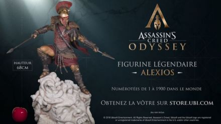 Ubisoft : Statuette Alexios collector