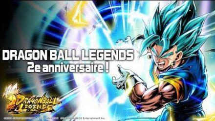 Vid�o : DRAGON BALL LEGENDS 2e anniversaire !