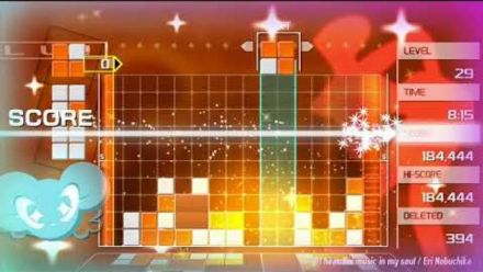 Vid�o : Lumines Remastered : Trailer de lancement