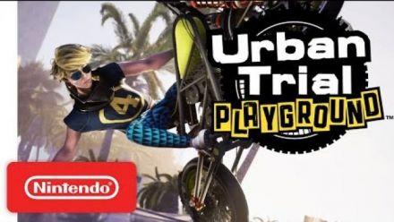 Vidéo : Urban Trial Playgroud Switch : Trailer date de sortie
