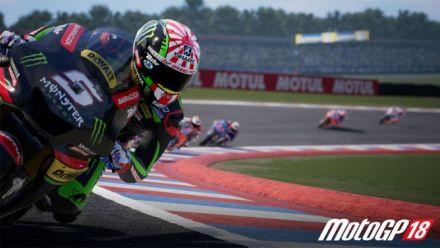 Vid�o : MotoGP 18  sur Nintendo Switch : Trailer