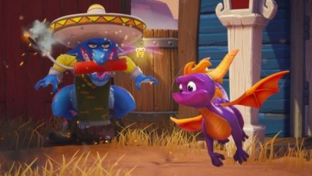 Spyro Reignited Trilogy : Gameplay dans les mines (IGN)