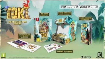 Vidéo : Toki : Trailer de lancement Nintendo Switch