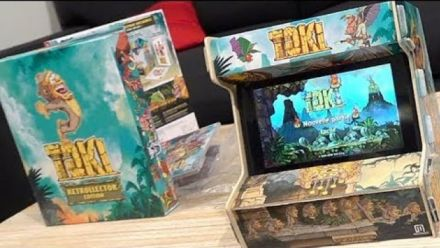 Vid�o : Toki Retrocollector Edition : Notre unboxing + montage de la mini-borne