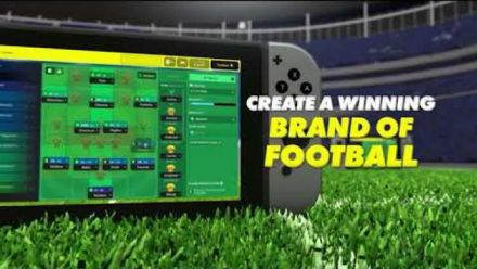 Vidéo : Football manager Touch 2018 Switch : Trailer sortie