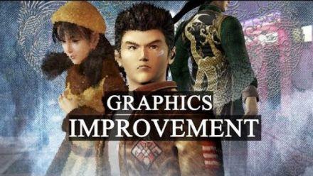 Vid�o : Shenmue I & II : Vidéo de mods de textures sur PC