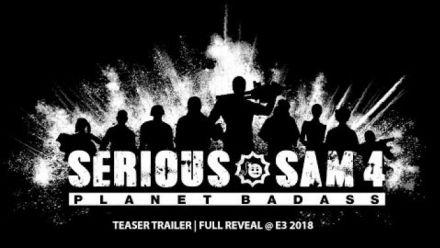 Serious Sam Planet Badass teaser