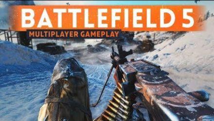 vidéo : BATTLEFIELD 5 MULTIPLAYER GAMEPLAY - Fortifications & Destruction