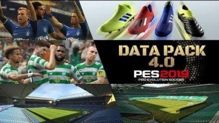 Vid�o : PES 2019 : Data Packs 4.0