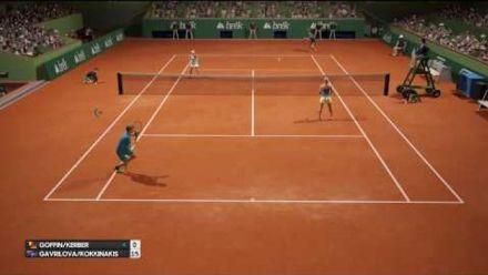 Vid�o : AO International Tennis Video de Gameplay