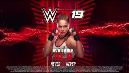 WWE 2K19 : Bande-annonce Ronda Rousey