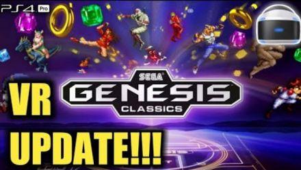 Vid�o : SEGA Mega Drive Classics : Gameplay PS VR