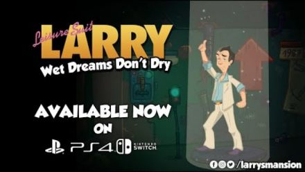 Leisure Suit Larry Wet Dreams Don't Dry | Playstation 4 & Nintendo Switch Release