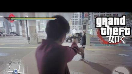 Vid�o : Yakuza : Video Game Moments in Real Life Shibuya Story