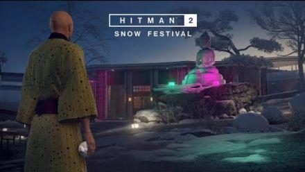 Vidéo : Hitman 2 : Snow Festival