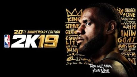NBA 2K19 : Trailer Collector 20eme anniversaire LeBron James