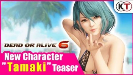"""Vid�o : DEAD OR ALIVE 6 - New Character """"Tamaki"""" Teaser"""