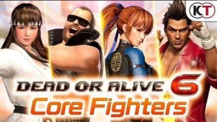 Vidéo : Dead or Alive 6 : Trailer Core Fighters