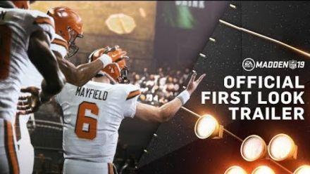 Vid�o : Madden NFL 19 s'annonce dans une vidéo musclée