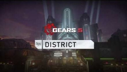 GEARS 5 : District Multiplayer Map Flythrough