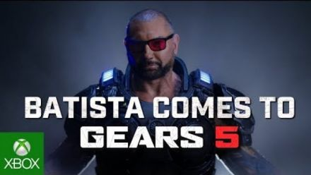 Dave Bautista dans Gears 5 : gameplay reveal