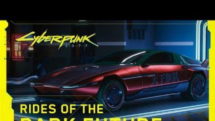 Cyberpunk 2077 - Les véhicules du futur sombre