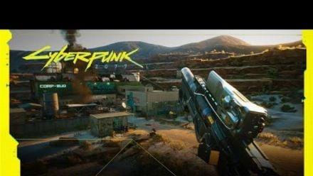 vid�o : Cyberpunk 2077 - Parcours