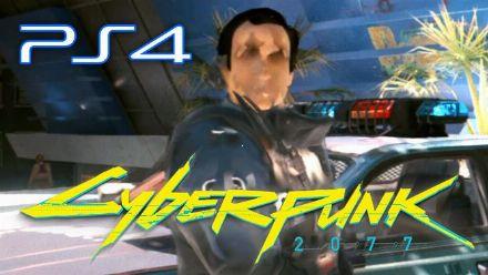 Cyberpunk 2077 sur PS4 : Vidéo maison