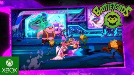 Vidéo : Battletoads se montre avec du gameplay