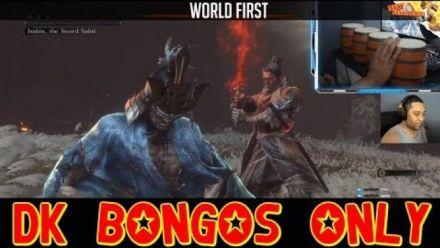 Sekiro : Combat aux bongos Donkey Konga