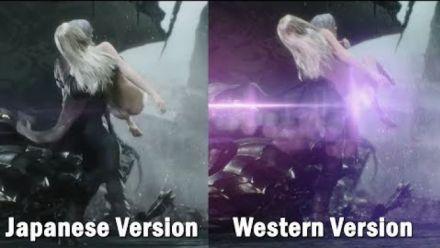 vidéo : Devil May Cry V Trish Scene Censored On PS4 (naughtygaming)