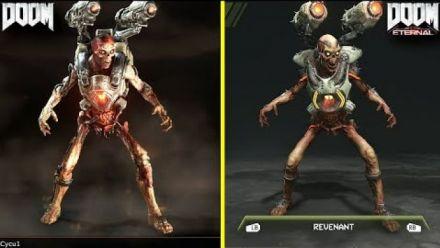 Doom vs Doom Eternal Demon (video d'un YouTubeur)