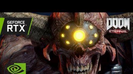 Vid�o : DOOM Eternal | Official GeForce RTX 3080 4K Gameplay - World Premiere