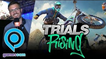 Trials Rising : Impressions Gamescom 2018