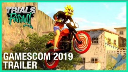 Vid�o : Trials Rising: Crash & Sunburn DLC Reveal - Gamescom 2019 Trailer | Ubisoft [NA]