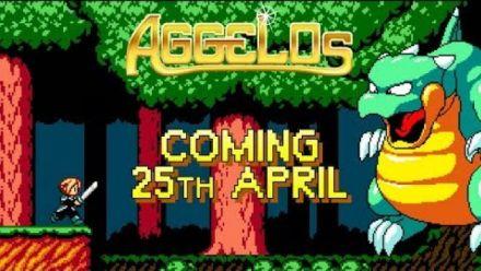 Vidéo : Aggelos : Trailer de sortie sur consoles