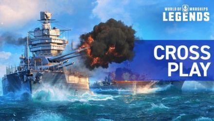 Vid�o : Le cross-play arrive dans World of Warships Legends