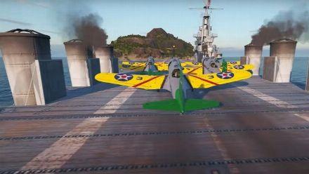 Vid�o : La mise à jour de février de WoW Legends arrive avec les porte avions