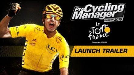 Vidéo : Pro Cycling Manager 2018 - Trailer de lancement