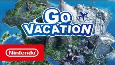 Vid�o : Go Vacation Switch : trailer de lancement