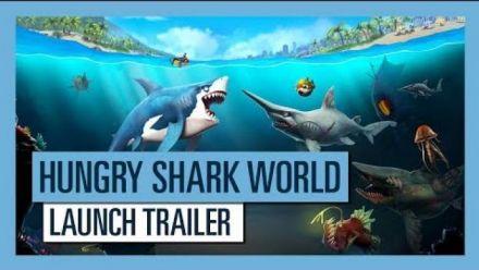 Vid�o : Hungry Shark World Console Edition trailer