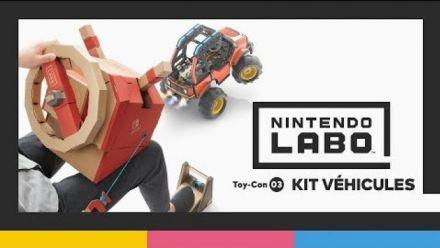 Vidéo : Nintendo Labo Toy-Con 03 : kit véhicules - Bande-annonce