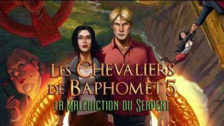 Vidéo : Les Chevaliers de Baphomet 5 : Bande-annonce Switch