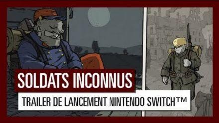 Vidéo : Soldats Inconnus : Trailer de sortie sur Switch