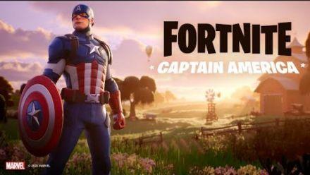 Vidéo : Captain America Arrives | Fortnite