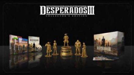 vidéo : Desperados III : Trailer de l'édition Collector