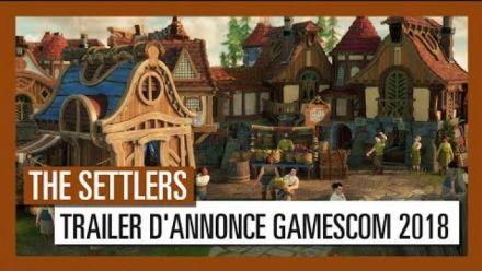 vidéo : The Settlers : Trailer d'annonce Gamescom 2018