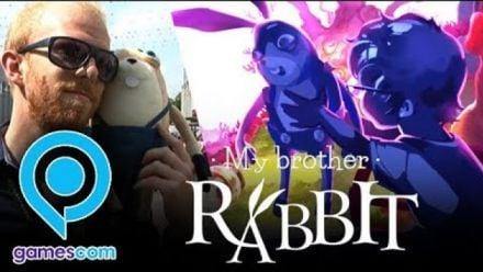Vidéo : My Brother Rabbit : Impressions Gamescom 2018
