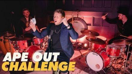 Vid�o : Ape Out : Le jeu sur scène avec deux batteurs