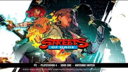 Streets of Rage 4 - Cherry Hunter